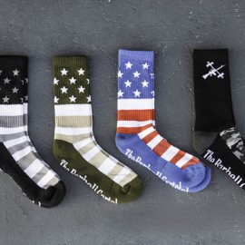THE BARBELL CARTEL - American Flag Socks