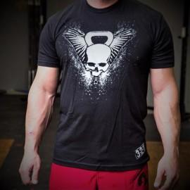 321 APPAREL - Tee-shirt Homme modèle KETTLEBELL SKULL