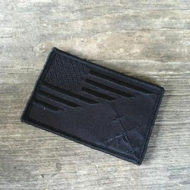 THE BARBELL CARTEL - Black Flag Velcro Patch