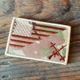 THE BARBELL CARTEL - Camouflage Velcro Patch