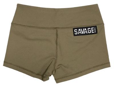 b93d96512f3c SAVAGE BARBELL - Women Booty Short