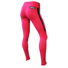 "SAVAGE BARBELL - Leggings Femme ""Red 2.0"""