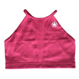 "SAVAGE BARBELL - Women Sports Bra ""Scarlet Web Back"""