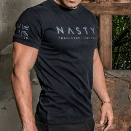 "NASTY LIFESTYLE - ""Train Hard 2.1"" Men T-shirt"