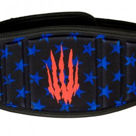 BEAR KOMPLEX - Stars & Stripes Velcro strength belt