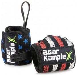 "BEAR KOMPLEX - ""American Flag"" Wrist Wraps"