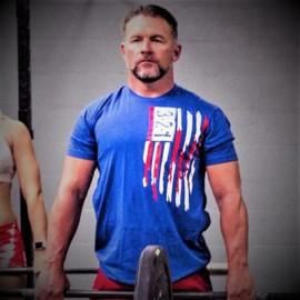 "321 APPAREL - T-shirt Homme ""MODERN FLAG"""