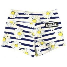 "SAVAGE BARBELL - Women Booty Short ""Sunshine Daisy Dukes"""