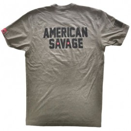 "SAVAGE BARBELL - T-Shirt Homme ""American Savage"""