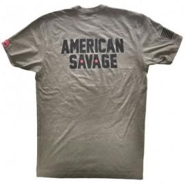 "SAVAGE BARBELL - Camiseta Hombre ""American Savage"""