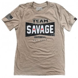 "SAVAGE BARBELL - Men T-Shirt ""Team Savage"""
