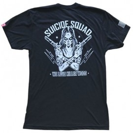 "SAVAGE BARBELL - T-Shirt Homme ""Suicide Squad"""