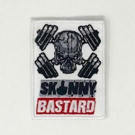 """SKULLFIT - Patch Velcro """"Skinny Bastard"""""""