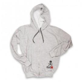 "SKULLFIT - Sweat-shirt ""Grey Hood"""