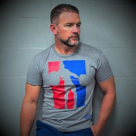 """321 APPAREL - T-shirt Homme """"OLY LIFTER"""""""