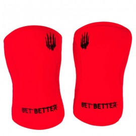 BEAR KOMPLEX 5 mm red knee sleeves dr wod