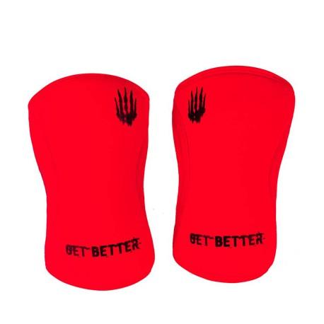 BEAR KOMPLEX 5 mm red knee sleeves dr wod
