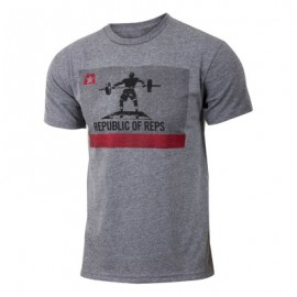 "JUMPBOX FITNESS - T-shirt Homme ""REPUBLIC OF REPS"""