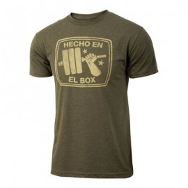 "JUMPBOX FITNESS - T-shirt Homme ""HECHO EN EL BOX"""