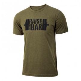 "JUMPBOX FITNESS - T-shirt Homme ""RAISE THE BAR"""