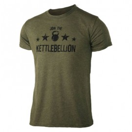 "JUMPBOX FITNESS - T-shirt Homme ""JOIN THE KETTLEBELLION"""