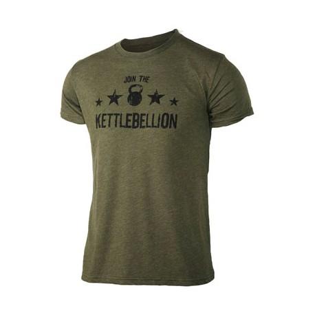 T-shirt Homme JUMPBOX FITNESS modèle JOIN THE KETTLEBELLION 1