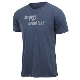 T-shirt Homme JUMPBOX FITNESS modèle BURPEES FOR BREAKFAST 1