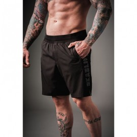 "DOUGHNUTS & DEADLIFTS -""BLKOUT TECH"" Mens Short"