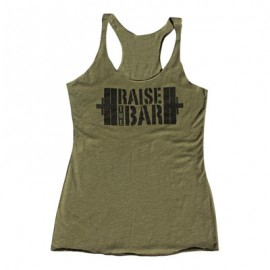 "JUMPBOX FITNESS - Débardeur Femme ""RAISE THE BAR"""