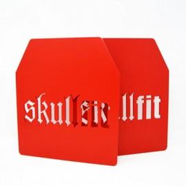 SKULLFIT - Plaques universelles 2,5 kgs pour gilets lestés