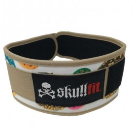 SKULLFIT - DOUGHNUTS weightlifting belt