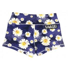 "SAVAGE BARBELL - Women Booty Short ""Moonlight Daisy Dukes"""