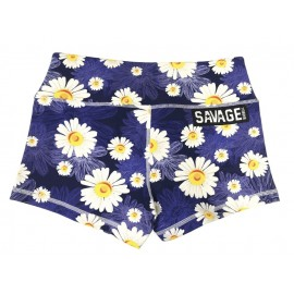 "SAVAGE BARBELL - Women Booty Short ""Moonlight Daisy Dukes"""