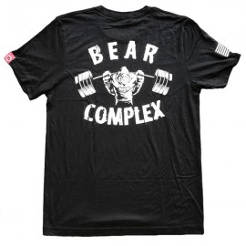 """SAVAGE BARBELL - Men T-Shirt """"Bear complex"""""""