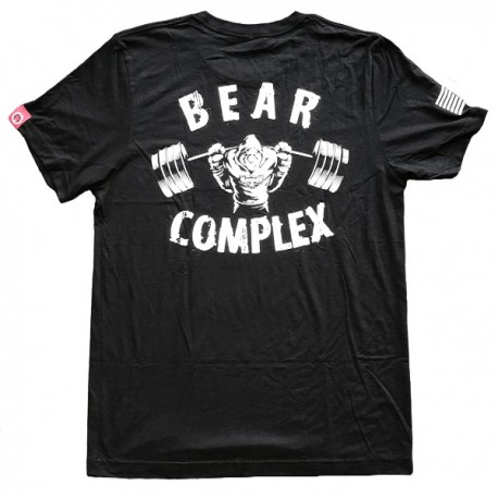 drwod_Savage_barbell_t_shirt_homme_bear_complex