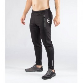 VIRUS - AU15 | kl1 black silver active recovery pant