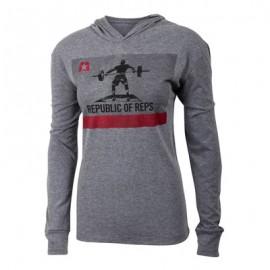 "JUMPBOX FITNESS - ""REPUBLIC OF REPS"" Long Sleeves T-Shirt"