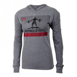 "JUMPBOX FITNESS - ""REPUBLIC OF REPS"" Long Sleeves T-Shirt"