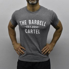 "THE BARBELL CARTEL - T-shirt Homme ""CLASSIC LOGO"""