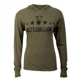 "JUMPBOX FITNESS - ""JOIN THE KETTLEBELLION"" Long Sleeves T-shirt"