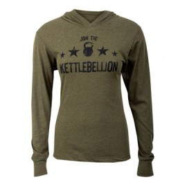 "JUMPBOX FITNESS - T-shirt manches longues ""JOINT THE KETTLEBELLION"""