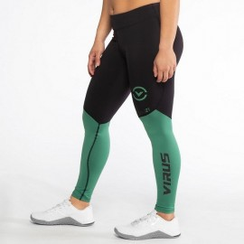 VIRUS - EAu21.5 | Bioceramic V2 - Leggings Compression Hunter Green