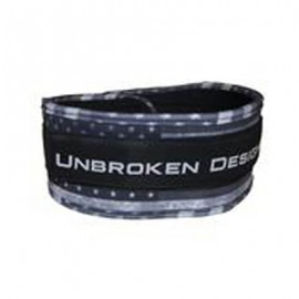 "UNBROKEN DESIGNS - ""Stars & Stripes"" Cloth Lifting Belt"