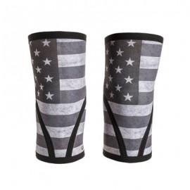"UNBROKEN DESIGNS - ""Stars & Stripes"" Neoprene Knee Sleeves"