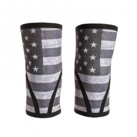 "UNBROKEN DESIGNS - ""Stars & Stripes"" Neoprene Knee Sleeves"