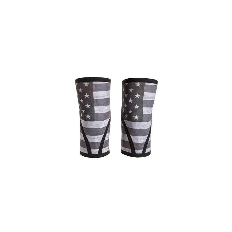 buy online f6116 953cc Genouillères en néoprène épaisseur 7 mm UNBROKEN DESIGNS modèle Stars    Stripes (vendues par paire ...