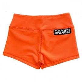 "SAVAGE BARBELL - Short Mujer ""Orange Crush"""