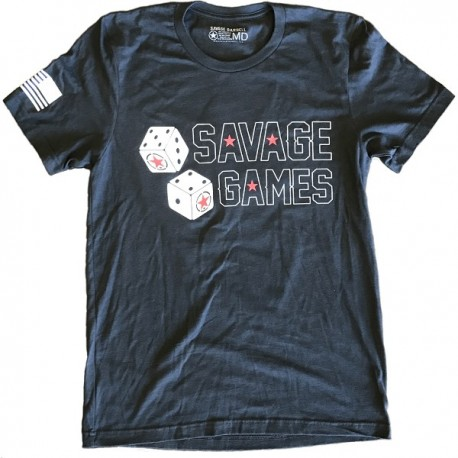 drwod_Savage_barbell_camiseta_hombre_savage_games