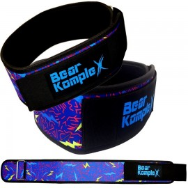 "BEAR KOMPLEX - ""Lightning"" Straight Velcro strength belt"