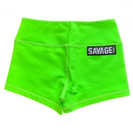 "SAVAGE BARBELL - Short Femme ""Sour Apple"""